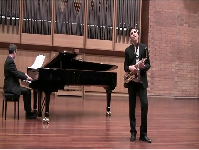 Valse Vanitè av Rudy Wiedoeft, Pianist: Patrik Johansson