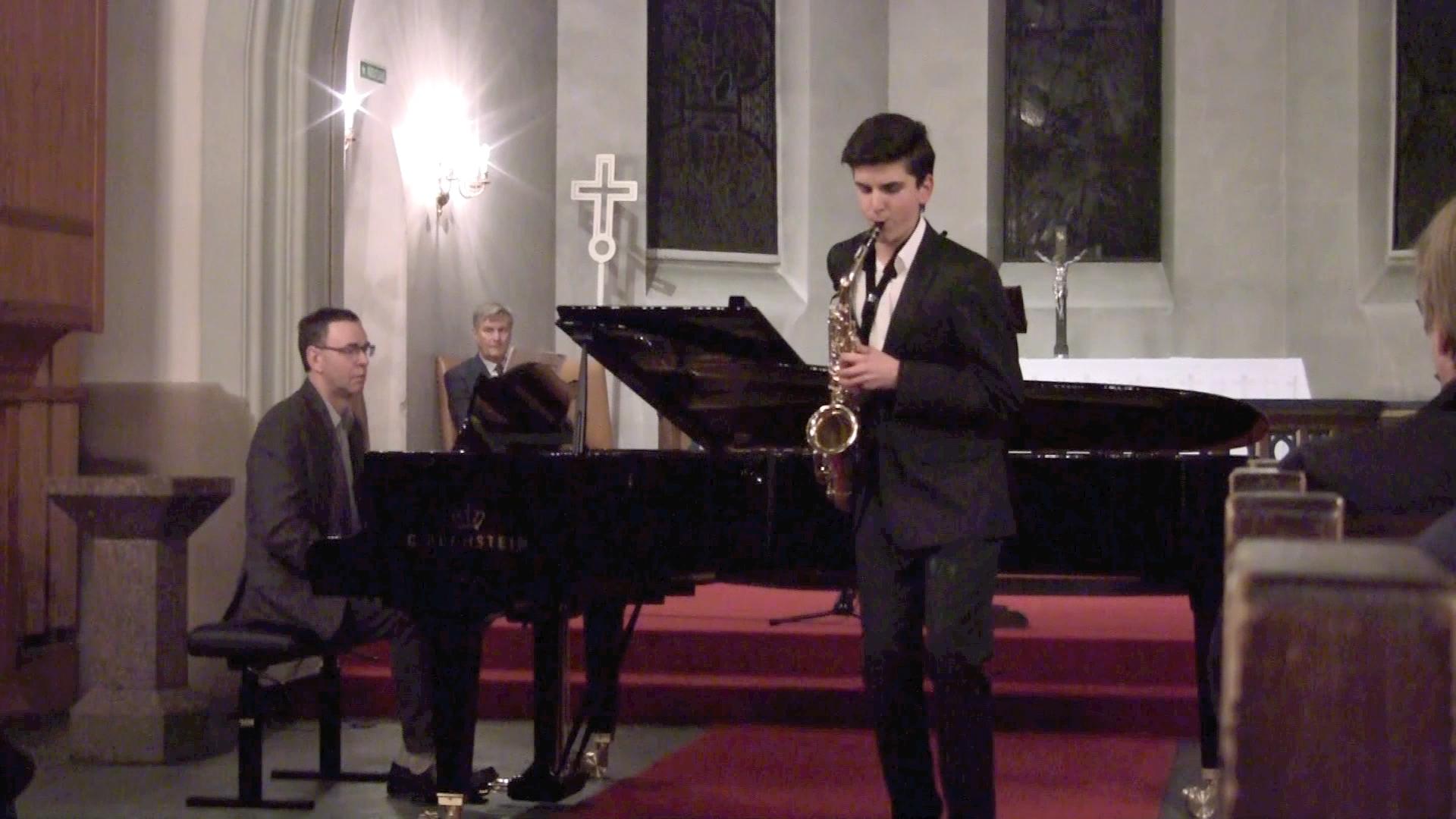 Vinnernummeret i Rotary musikkonkurranse 2013.  Pianist: Per Arne Frantzen